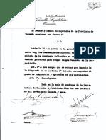 Decreto policía de Tucumán