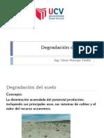 degradación de suelos