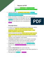 Resumo PCP