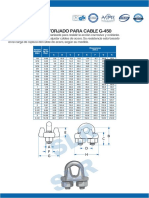 Ficha Grapa de Acero Forjado de Cable - YOKE