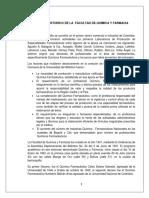 ENSAYO HISTORICO DE LA  FACULTAD DE QUÍMICA Y FARMACIA.docx
