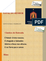 Diapositivo Missa de Natal