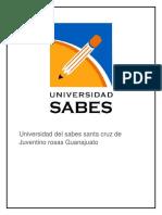 Universidad Del Sabes Santa Cruz de Juventino Rosas Guanajuato