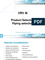 Daikin VRV Selection