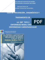 Capacitación diabetes para promotores de salud
