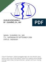 Bahan Hukum Kesehataan 1