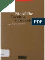 Nietzsche Friedrich - Escritos Sobre Retórica