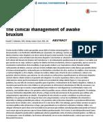 Existen Muchos Hábitos Orales Que Pueden Causar Daño Al Sistema Estomatognático