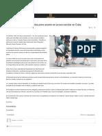 Almomento Mx Jornada Contra La Homofobia Pone Acento en Acoso Escolar en Cuba