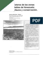 Los Esteros de las zonas inundables de Venezuela ictiologia y conservacion.pdf