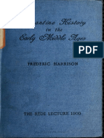 Harrison. Byzantine history in the early Middle Ages (1900).