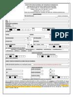 Ficha Geral de Inscrições 2019