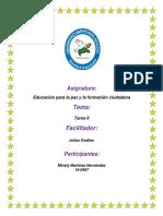 Tarea II de Formacion Para La Paz Minely (2)