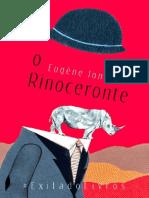 O Rinoceronte - Eugene Ionesco