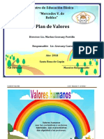 Plan de Valores 5to Grado