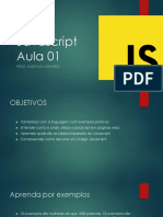 Javascript AULA 01