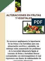 Alteraciones en Frutas y Vegetales