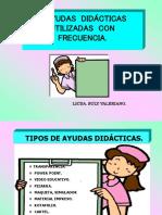 Ayudas Audiovisuales Lic enf
