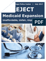 Reject Medicaid Expansion
