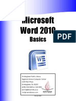 Ms Word 2016 Part 1redo
