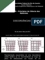Discordâncias em sólidos cristalinos