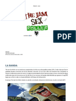 The Jam Sex Roller - PRESSKIT 2019