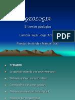 El Tiempo Geologico