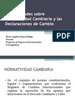 3. Generalidades Normatividad Cambiaria (1)