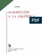 02. Coseriu (1951) - Introducción a la lingüística.pdf