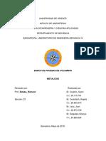 SEGUNDO INFORME DE LABORATORIO DE INGENIERÍA MECÁNICA IV - PROF. RICHARD ESTABA.docx