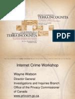 Cyber Stalking 2007 Seminar, Powerpoint