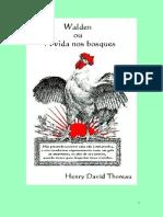 Walden ou A vida nos bosques -H.D. Thoreau