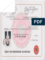 Certificados Marlene