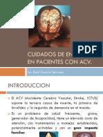 Cuidados en Enfermeria en Pacientes Con ACV