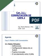 UPS Redes II Cap 3.1 Conmutación