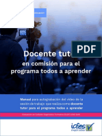 Manual Docente Tutor Pta - Ecdf