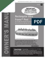 RectangularUltraFramePool International(119IO)(14354) 1