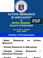 Action Research & Research Policy Guidelines