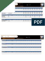Plantilla Excel Balanced Scorecard