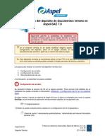 Configuracion Deposito Documentos Remoto SAE