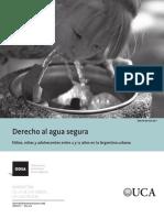 Boletin 1 2016. Derecho Al Agua Segura