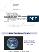 Chemistry of Water (1)