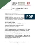 IV Jornada de Historia Social y Regional-Programa