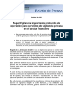 Boletín 061 Implementacion Del Protocolo Operativo Secfinanciero 210711