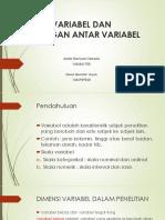 metpen - VARIABEL DAN HUBUNGAN  ANTAR VARIABEL.pptx