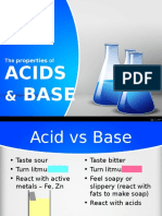 Acids & Base