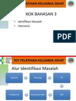 Materi 2b Identifikasi Masalah & Intervensi