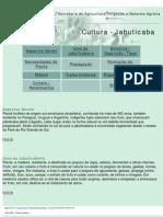 SEAGRI - Cultura Jabuticaba