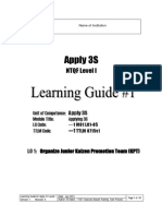 Learning Guide No 1