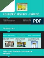 Equilibrio liquido-liquido